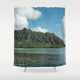 Hawaiian Mountain II Shower Curtain