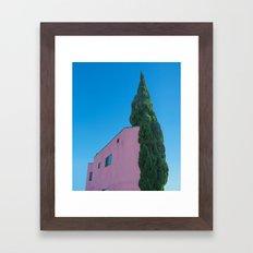 Arborvitae Snuggles Framed Art Print