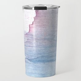 Lavender colorful wash drawing Travel Mug