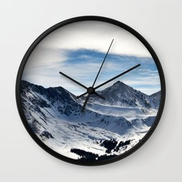 Mtn bowl Wall Clock