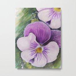 Viola Tricolor Metal Print