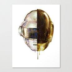 DAFTPUNK II Canvas Print