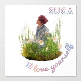 BTS Love Yourself Answer Design - Suga Canvas Print