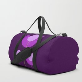 Abstract purple Tulips Duffle Bag