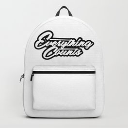 Everything Counts Backpack