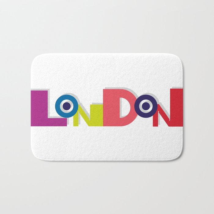 London 5 Bath Mat