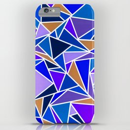 Funky Triangles iPhone Case
