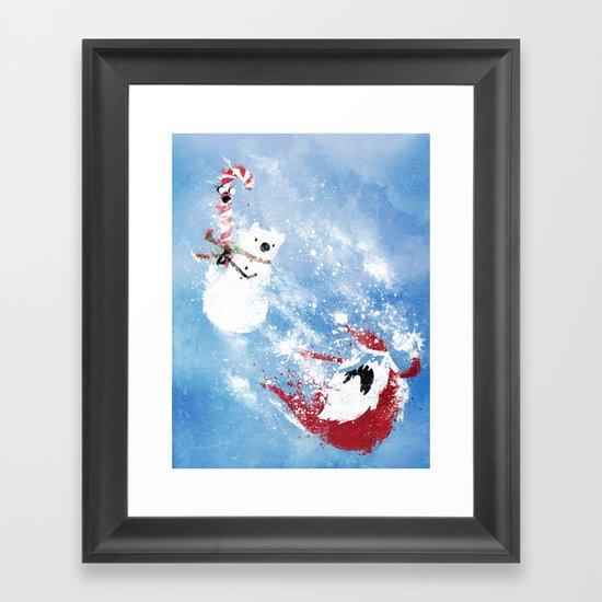 Christmas Time!! Framed Art Print