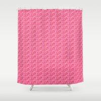 valentine Shower Curtains featuring Valentine by Helena Harvey