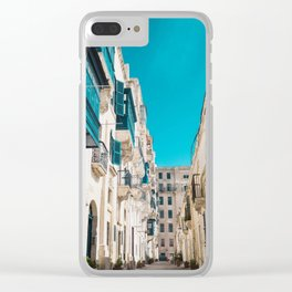 Hidden Street - Valletta, Malta Clear iPhone Case