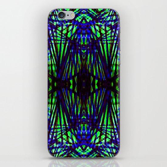 Blue jungle iPhone & iPod Skin