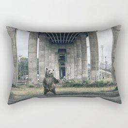 Bear sighting Rectangular Pillow