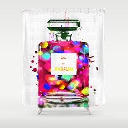 Eau de Parfum Bubbles Shower Curtain