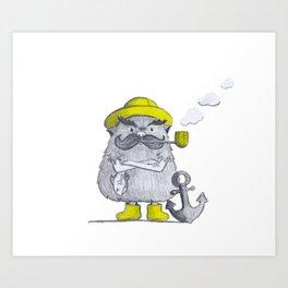 Mr. Old Salt Art Print