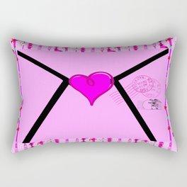 Mail Room /Lady Rectangular Pillow