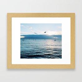Day At Sea Framed Art Print