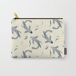 Japanese Koi Fish Pattern Carry-All Pouch