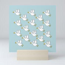 Flying Duck Mini Art Print