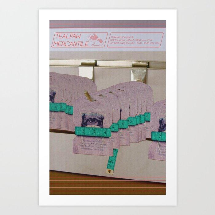 Tealpaw Mercantile Art Print