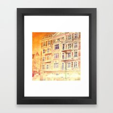street in Poznan part 3 Framed Art Print