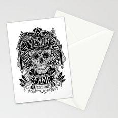 Venom Fame crest Stationery Cards