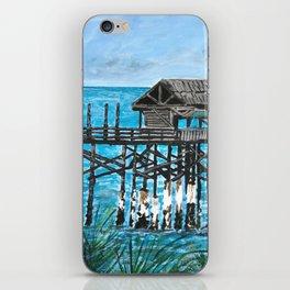 Cocoa Beach Pier iPhone Skin