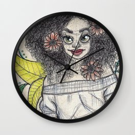 I'm strong Wall Clock