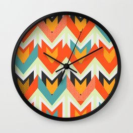 Shapes of joy Wall Clock