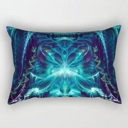Platea - Fractal Manipulation - Visionary Art - Manafold Art Rectangular Pillow