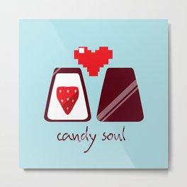 Candy Soul Metal Print