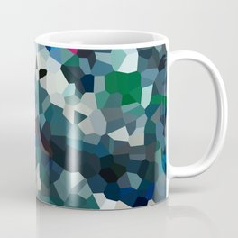 Emerald Sea Green Moon Love Coffee Mug