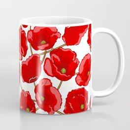 cute red poppies Coffee Mug