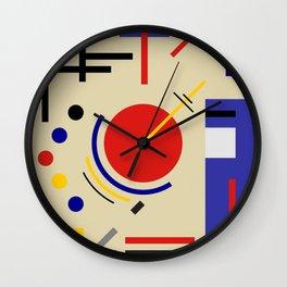 BAUHAUS ASTRONOMY Wall Clock