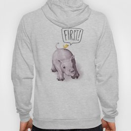 FIRST! Hoody