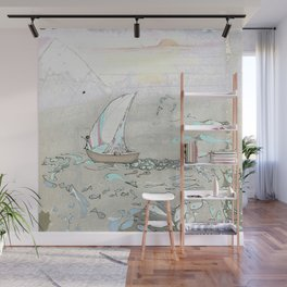 North by North Wall Mural