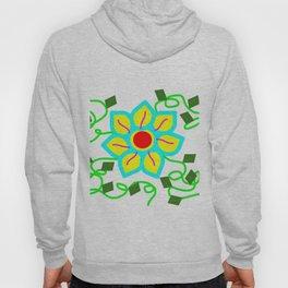 Digital Flower Hoody