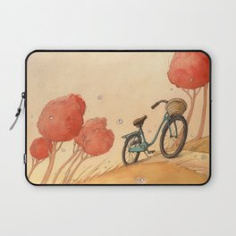 Lonely Bike Laptop Sleeve