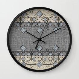 Smoke and Vanilla Wall Clock