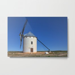 Spanish Windmill Metal Print