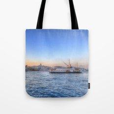 The Bosphorus Istanbul Tote Bag