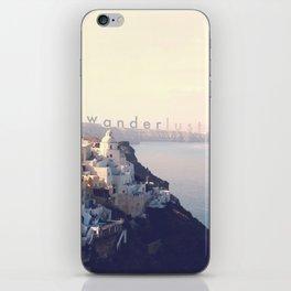 Wanderlust (Santorini) iPhone Skin