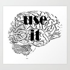 USE IT Art Print