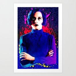 Joan Crawford, The digital Taxi Dancer Art Print