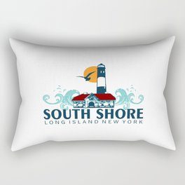 South Shore - Long Island. Rectangular Pillow