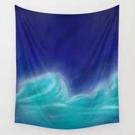 The Sea Who Loved the Sky Wall Tapestry