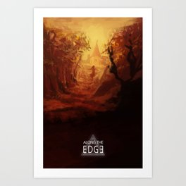 Along the Edge: The Forest Art Print