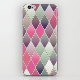 Abstract Mid Century Pattern iPhone Skin