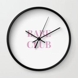 Babeclub white Wall Clock