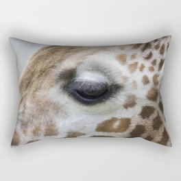Eye of giraffe Rectangular Pillow