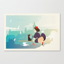 Delivery Service Canvas Print
